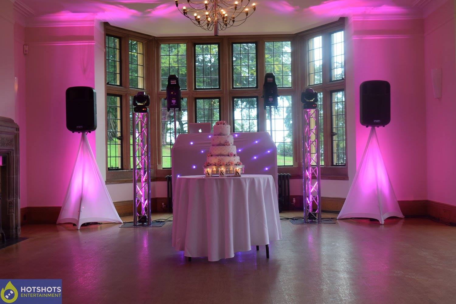 Wedding uplighting