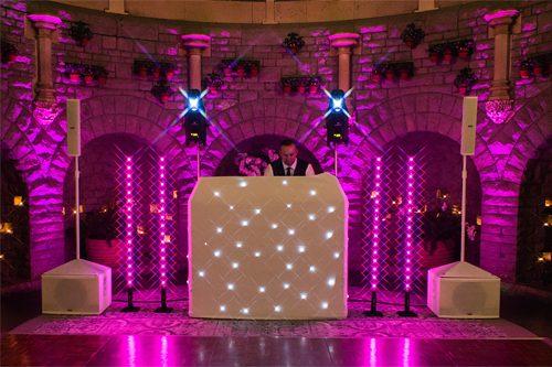 Wedding DJ at Tortworth Court