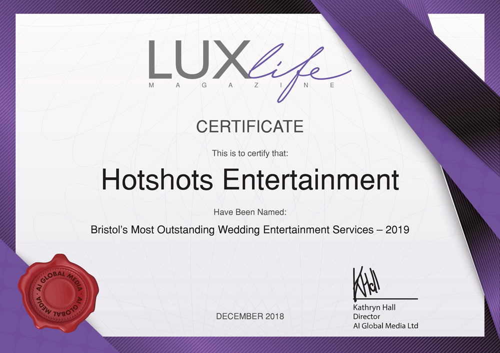 Award winning Wedding DJ service.