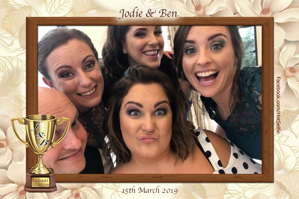 Old Down Manor photo booth fun with the HotSelfie