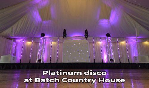 Batch Country House Platinum wedding DJ package