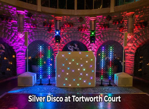 Tortworth Court silver wedding DJ package