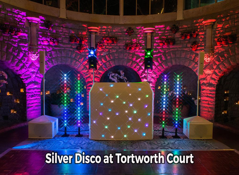 Tortworth Court silver wedding DJ package