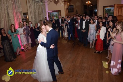 First dance from Mr & Mrs Burt at Orchardleigh House.