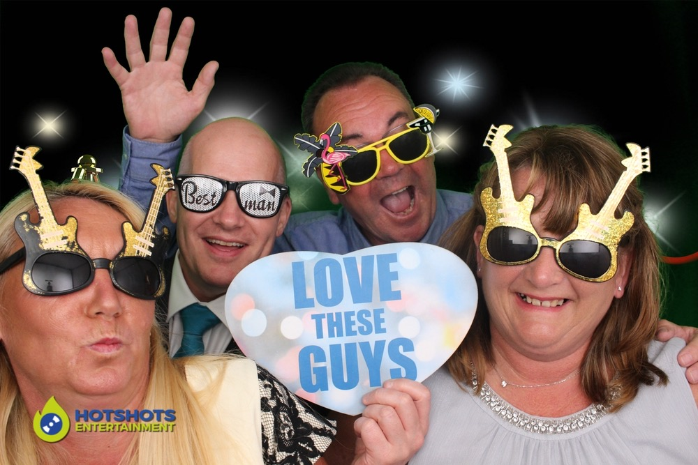 love these guys in the photo booth