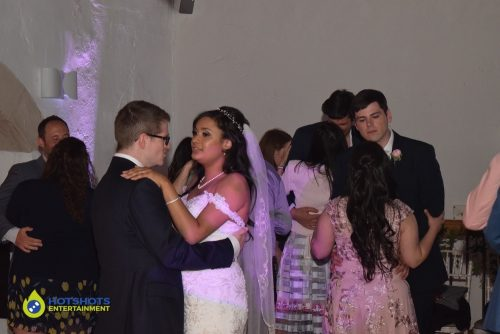 First dance at Priston Mill water mill.