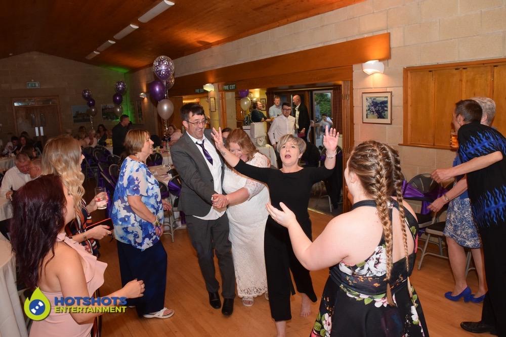 Dancing the night away at a wedding