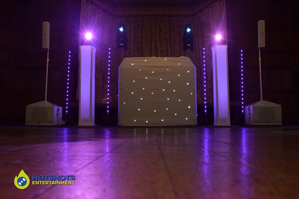 Platinum disco from Hotshots Entertainment, with DJ Morf at Dumbleton hall
