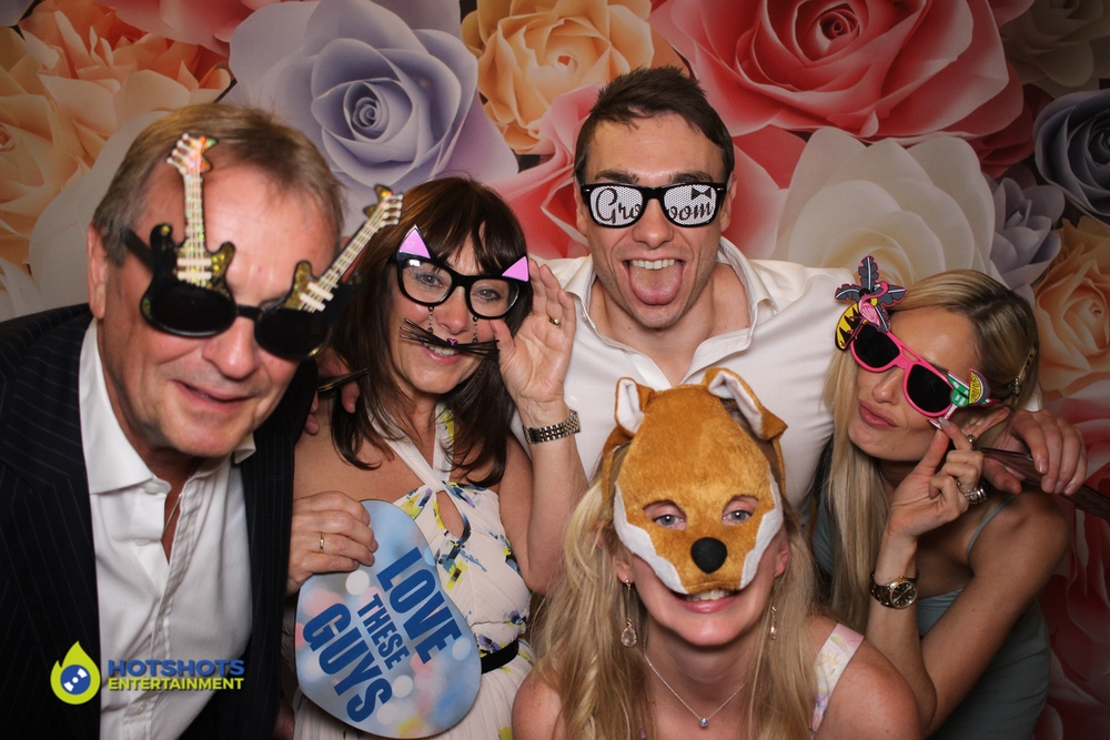 Love these guys in the photo booth, so much fun