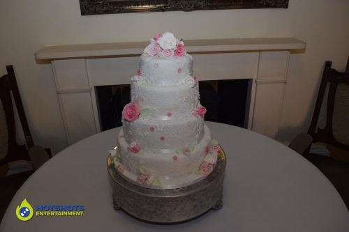 Wedding cake at Old Down Manor