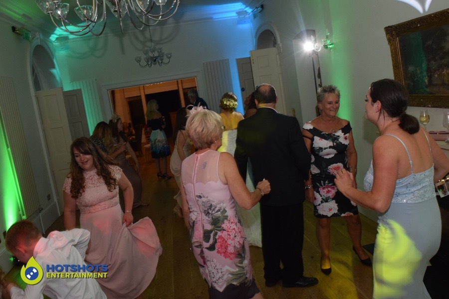 wedding guests having the best time ever