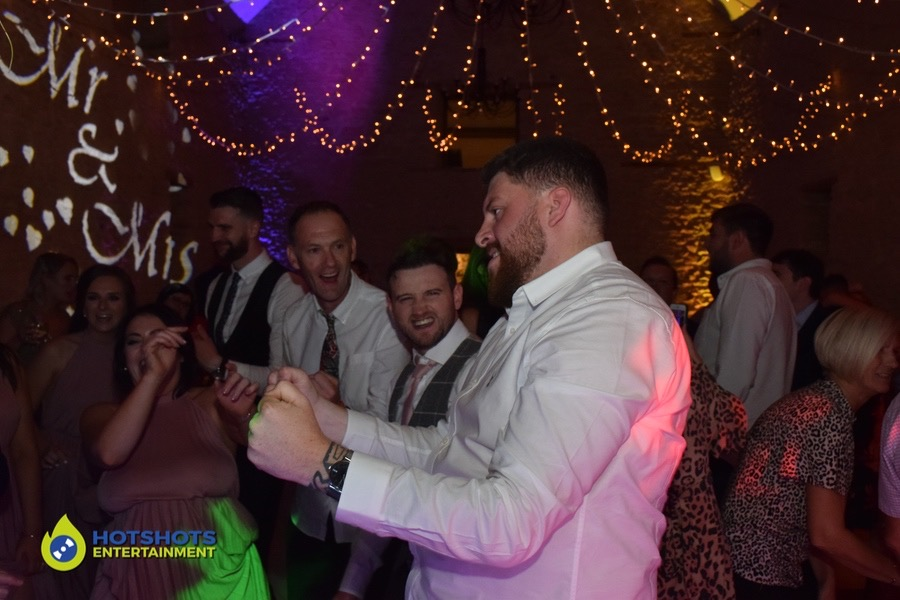 Such great moves on the dance floor, while everyone smiling and having a great time