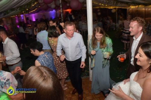 dance moves on the dance floor for a wedding