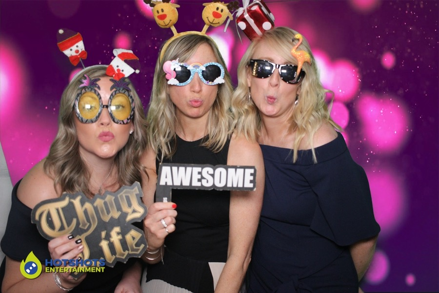 Bristol photo booth, silly face time girls