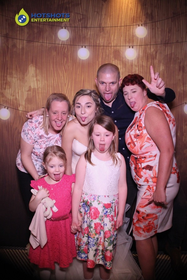 Photo booth hire fun with the magic mirror, family time.