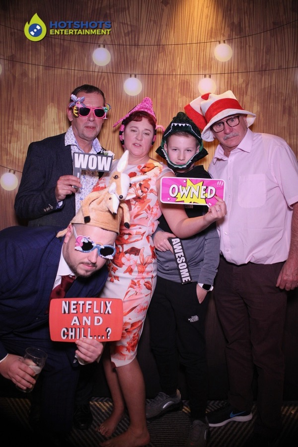 Photo booth hire fun with the magic mirror, netflix and chill