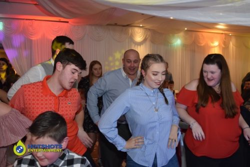 Party dance moves at a wedding