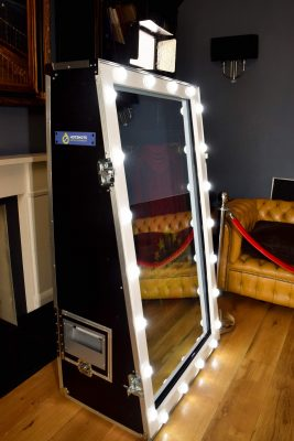 Magic Mirror at Old Down Manor in Bristol, also known as a Selfie Mirror.