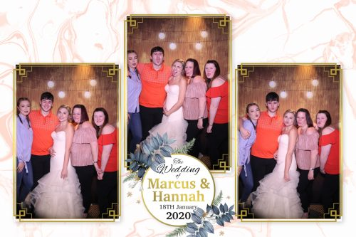 So much fun in the Magic Mirror with the Bride and guests