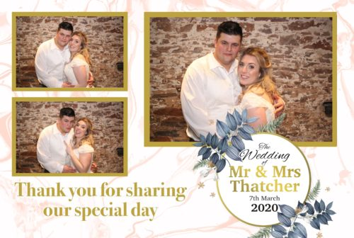 Template design for the Happy couple, they look so cute.