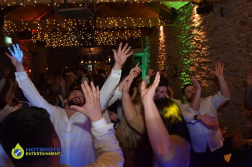 Good times on the dance floor at The White Horse Barn with DJ Morf